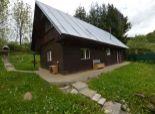 3izb dom (chalupa - drevostavba), pozemok 5á, krb, terasa, krásne prostredie