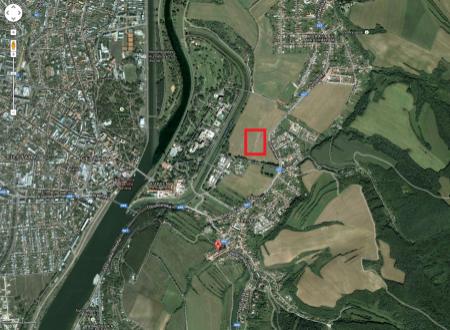 Stavebný pozemok (625m2) Banka pri Piešťanoch