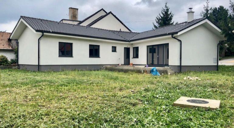 Novostavba rodinného domu v obci Vinosady pri Pezinku neďaleko Bratislavy - skolaudované