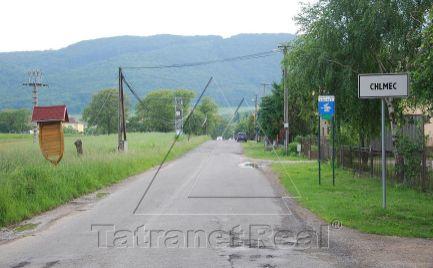 Na predaj veľky pozemok v Chlmci LEN za 3,90 € / m2