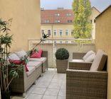 Nový veľký 2i byt 73m2, terasa, Špitálska ul., Staré Mesto