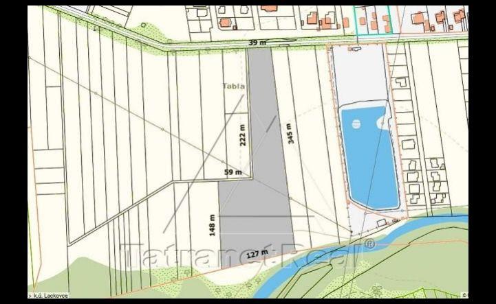 Investičná príležitosť - veľký pozemok v Lackovciach na predaj