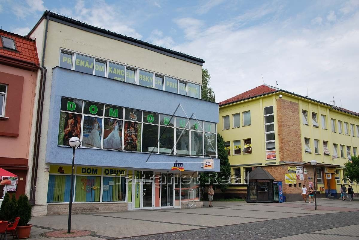 Administratívny objekt-Predaj-Humenné-100.00 €