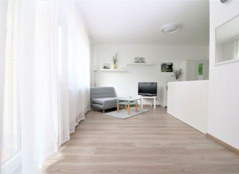 Na predaj 1 izbový byt s balkónom a garážovým státím v novostavbe STEIN2 v Starom Meste