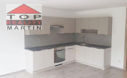 Trojizbový mezonetový byt  s balkónom a vykurovanou garážou v novostavbe vo Vrútkach 106 m2