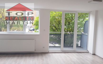 Trojizbový mezonetový byt s balkónom a vykurovanou garážou v novostavbe vo Vrútkach,96 m2