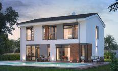 ASTER výstavba: 5-izb. murovaný rodinný dom, úžitková plocha 145m2, pozemok 628m2