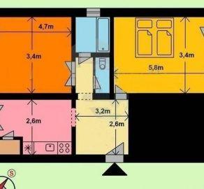 StarBrokers - PREDAJ - 2 izb byt - možnosť zmeny na 3 izb, Trnávka