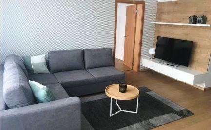 Ponúkame na prenájom kompletne zariadený 2- izbový byt v novostavbe ZUCKERMANDEL.