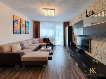 3 izbový moderne zariadený byt v novostavbe v Záhorskej Bystrici