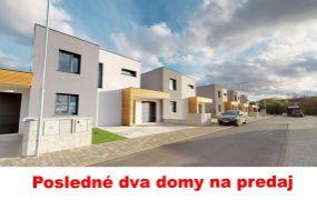 Na predaj skolaudované rodinné domy novostavby Trenčín, Záblatie ul. Hanzlikovská