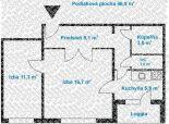 2 izb. byt, Mierová ul., loggia, možnosť vstúpiť do rekonštrukcie
