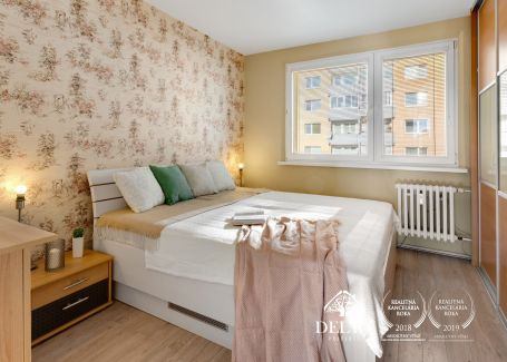 3 izbový slnečný byt Podunajské Biskupice