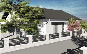 Na predaj 3  moderné novostavby bungalov,4 izbový rodinný dom,Tuchyňa - časť Kúty.