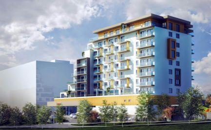 RESERVÉ !!! 2 izb. byt, Veža EUPHORIA, 8p, balkón, kumbál, vonkajšie parkovacie miesto