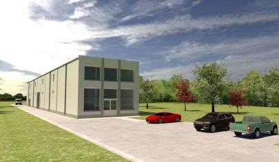 Stavebný pozemok s právoplatným stavebným povolením, komerčná zóna BERNOLÁKOVO
