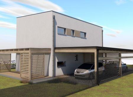 Nový 5 izbový rodinný dom P7-A3-Š / Sokolovce