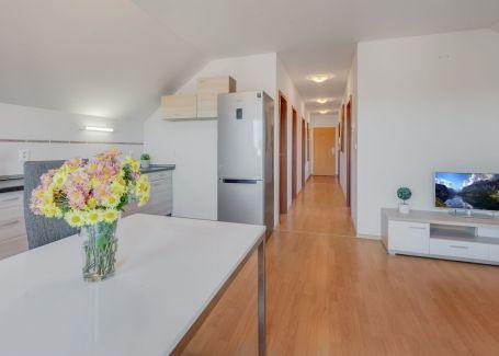 REZERVOVANÉ - 3 izbový slnečný byt, Veľký Biel