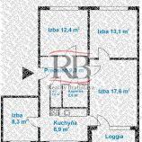4i byt na Gallayovej ulici v Dúbravke