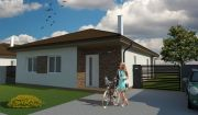 Nízkoenergetická novostavba 4 izbového bungalovu Malé Leváre!!!