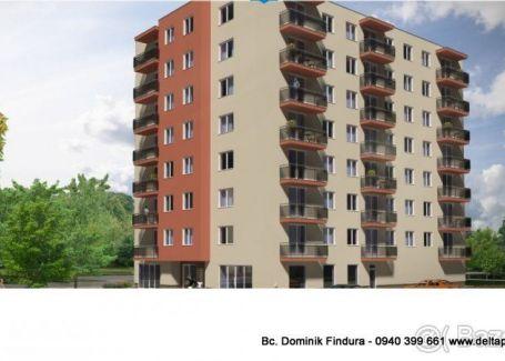 DELTA - 4-izbové byty s balkónom v novostavbe na predaj Sp. Nová Ves - širšie centrum