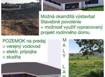 Predaj pekného 10 ár pozemku na Malom Lapáši