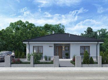 JJ Reality - 4 - izbový rodinný dom na predaj v obci Kuzmice  /TOPOĽČANY/