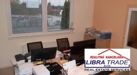 Kancelária + skladové priestory na prenájom v Štúrove