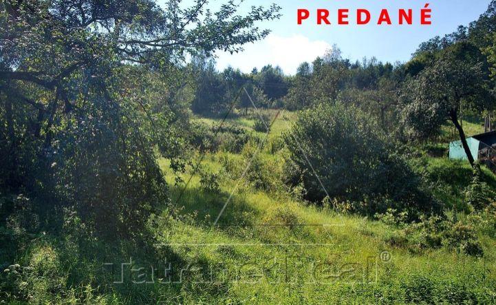 V Udavskom na predaj 14 árový pozemok