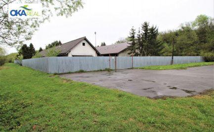 Na predaj pozemok 6 400 m2 s halami v Tvrdošíne
