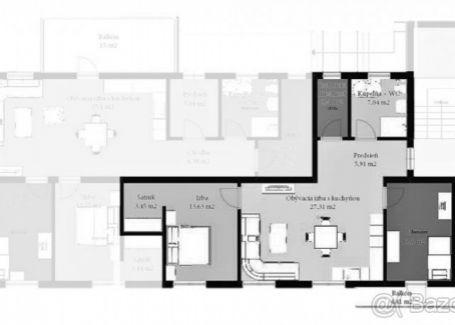 DELTA - 3-izbový byt s balkónom na predaj v novostavbe Novoveská Huta