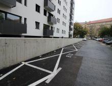 Na prenájom vonkajšie parkovacie státie pri novostavbe ZIMÁK REZIDENCE, ulica Pri starej prachárni, BA - NOVÉ MESTO.