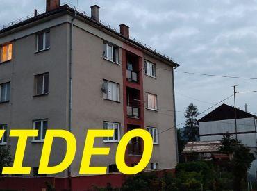 Predaný.Byt 3+1 SUPERCENA. 78 m2, tehlový, balkón, vlastný dvor, Zvolen - Budča