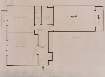 Ponúkame Vám na predaj 2 izbový byt Bratislava-Rača, Cyprichova ul.