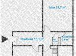 Predaj 2,5 izb.bytu po rekonštrukcii (z r. 2019), 6.p., loggia, na Ostredkoch, v tichej lokalite.