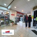 RK Byty Bratislava ponuka na prenájom 53m2 obchodný priestor v OC Stred, Malacky.