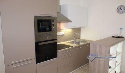 3 - izb. byt s garážovým státím, loggiou 6m2 v novostavbe