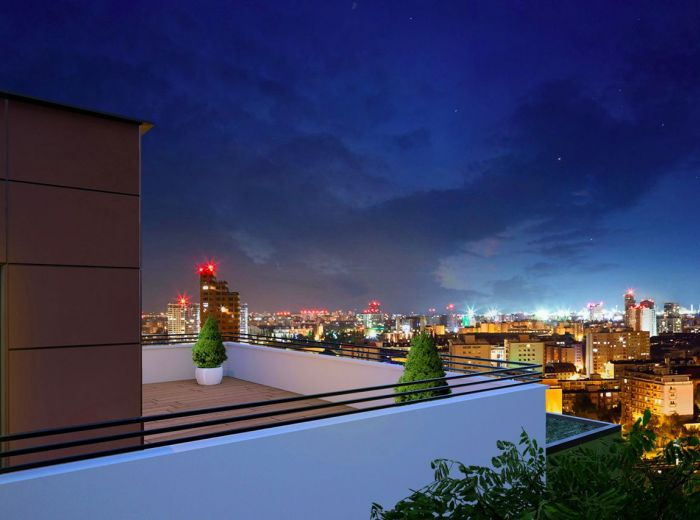 GRAND KOLIBA rezidencie – 4-i byt, 138 m2 - technologický NADŠTANDARD, park, fontána, VÝHĽADY