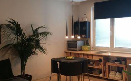 Na prenájom pekný moderný 1,5 izbový byt Súmračná Ružinov