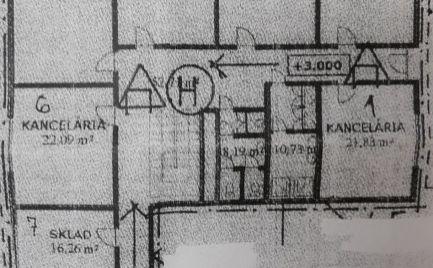 Prenájom kancelárske priestory Petržalka pri OC DANUBIA