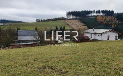 Pozemok v Pekline - Dolný Hričov pri Žiline 2177 m2