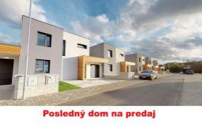 Na predaj posledné dva skolaudované rodinné domy novostavby Trenčín, Záblatie ul. Hanzlikovská