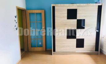 REZERVOVANÉ - Veľkometrážny 2-izbový byt s krásnym výhľadom - Partizánske