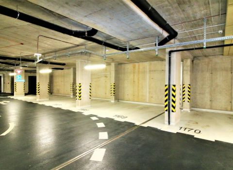 Na prenájom garážové státie v novostavbe STEIN2