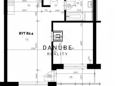 Predaj/postúpenie práv/ 2 izbový byt 57 m2 v CITY Residence v Malackách.
