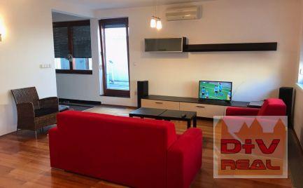 D+V real ponúka na prenájom. 2 izbový byt, Dunajská ulica, Bratislava I, Staré Mesto, zariadený, terasa, parkovanie