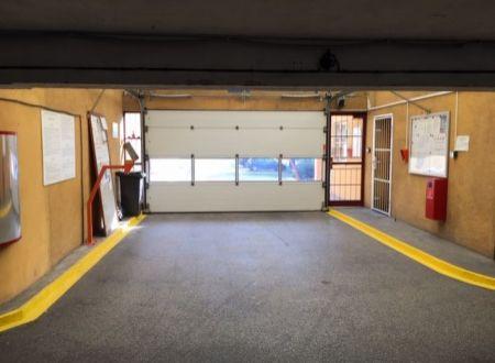PREDAJ: Samostatná uzamykateľná garáž 17,1m2, garážový dom, Dvojkrížna