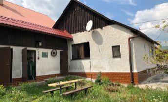 Na predaj romanticka chalupa/rodinný domček v  Nitrianskom Rudne