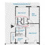 Na predaj 3 izbový byt na Borskej ulici v Karlovej Vsi