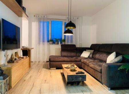 4 izbový  byt s balkónom garážou  záhradkou Urmince / VYPLATENA ZALOHA